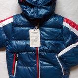 Демисезонная куртка бомбер для мальчиков 4-5 лет