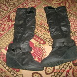 ботинки дубленка