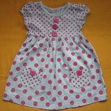 Классное платье GEORGE до 4 лет
