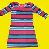 Яркое платье на девочку 9-11 лет,рост 140-146 см