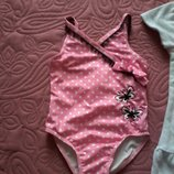 купальник и халат для девочки на 2 года