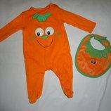 Карнавальный костюм человечек тыковки тыквы на Halloween хелоуин