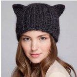 шапка женская с ушками кошка ХИТ зара