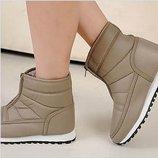 зимние ботинки женские -ХИТ дутики