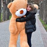 Медведь мишка плюшевый Большой 180 см Цвета