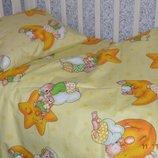 Детский постельный набор в кроватку
