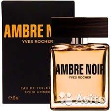 Туалетная Вода Ambre Noir Ив Роше 50мл
