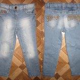 На 5 лет Моднячие джинсы бойфренд от Next девочке