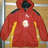 2523 Фирменная куртка непромокаемая 104/110