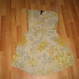 Пляжное шифоновое платье