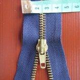 продам крепкие длинные металлические молнии цвет темно-синий много дешево