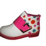 Ботинки розовые для девочки