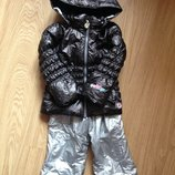 Obermeyer пуховая куртка и полукомбинезон комплект 3 года