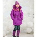 Распродажа. Куртка зимняя для девочки Lenne MISTY 15361/273 р.122