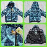 Новинка красивая модная утепленная куртка 5-9 лет