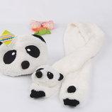 прикольні тепленькі набори-панда.Нові
