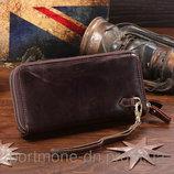 Мужской клатч кошелек барсетка Элитная 100% натуральная кожа