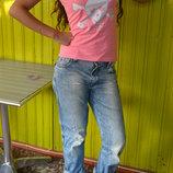 Классные джинсы бойфренды H&M