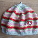 шапка берет деми 3-4 года осень весна девочке красная SNOOPY розовая зеленая снупи