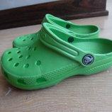 Кроксы аквашузы 19,5 см вьетнамки обувь для пляжа бассейна оригинал Crocs Крокс