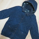 стеганая куртка M&S 7-8 лет