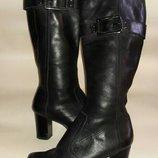 сапоги кожаные next36-37 размер по стельке 23-23,5см состояние новых