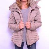 Стеганная демисезонные курточки 42-50р. Польша. Высшее качество Два цвета.