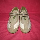 Кожаные туфли s.Oliver - 34 размер