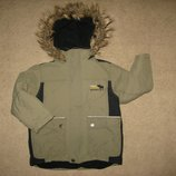 зимняя куртка мальчику на 4-5 лет
