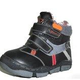Ботинки черные для мальчика зимние