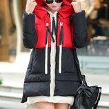 куртка зимняя женская пуховк ХИТ