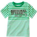 M-653 футболка в зеленую полоску Topolino р. 104, 110, 116