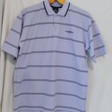 Рубашка поло сиреневая в полоску Umbro 50-52р