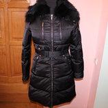 Пуховое пальто Elisabetta Franchi