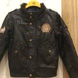 Куртка а ля кожанка для супер модника известного детского бренда Campus