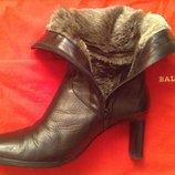 Зимние кожаные ботинки Studio Pollini 36 р-ра оригинал Италия