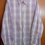 Новая рубашка в мелкую клетку Rocha John Rocha XL