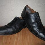 Стелька 27см Мужские кожаные туфли Clarks Р-Р UK 8