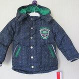 Новая зимняя куртка Kanz. Оригинал. Германия. разм.80-86см