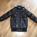 Теплая куртка на силиконе George на 7-8 лет