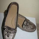 Балетки ортопедичні брендові шкіряні Footglove Оригінал Великобританія р.4,5 стелька 24,5 см
