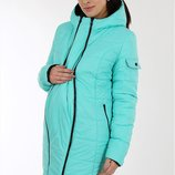 Зимняя куртка для беременных Kristin, бирюза