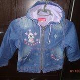 Куртка, ветровка, пиджак 92-98
