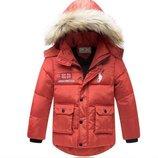пуховик на мальчика ХИТ зимняя куртка для мальчика