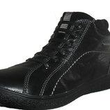 Подростковый черный ботинок