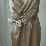 Платье женское нарядное элегантное коктейльное миди бренд George р.44 3522