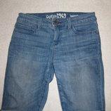 джинсовые бриджи Gap 9-12 лет, стрейчевые