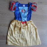 карнавальний костюм 3-4 г белоснежка утренник хеллоуин Disney Дисней новый год праздник платье