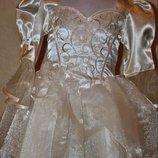 Платье принцессы 3-4года