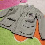 стильная летняя куртка ветровка 5-6 лет